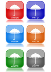 """Umbrella  """"6 buttons of different colors"""""""