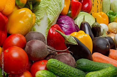 Crop of vegetables