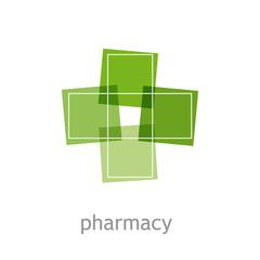 Logo pharmacy # Vector