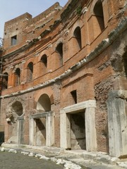 Trajan's forum and market in Rome