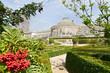 Center of Botanique, public garden in Brussels