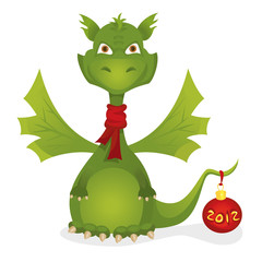 Cute New Year dragon