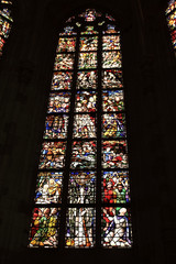 stain glass ,church window