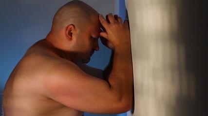 sadness  strong man