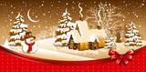 Fototapety Christmas night