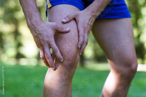 Verletzung am Knie