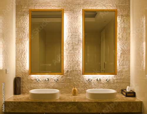 interior design of a bathroom