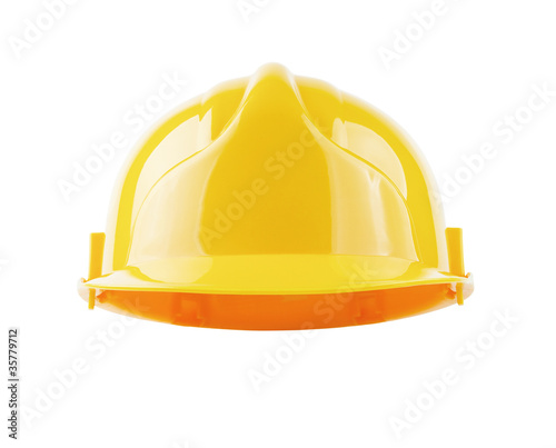 Hardhat isolated with clipping path