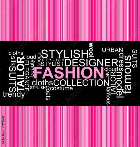 FASHION - Word collage