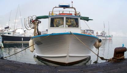 Fischkutter fisheye