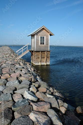 Leinwanddruck Bild small harbor