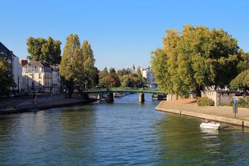 Le pont Saint-Mihiel après les rénovations