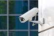 Leinwanddruck Bild - security camera