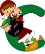 c green alphabet