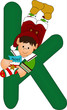 k green alphabet