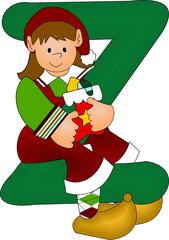 z green alphabet