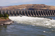 Hydroelectric dam and spillway