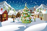 Fototapety Christmas season