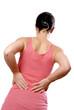 Femme douleur lombaire