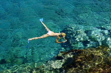 podwodne fotografowanie na wyspie Zakynthos