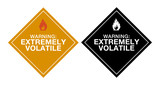 Warning Extremely Volatile poster