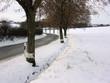 Wintereinbruch, Landstrasse