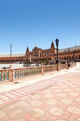 Plaza de Espana, Sevilla, Spanien