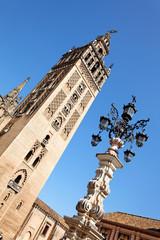 Giralda in Sevilla, Spanien