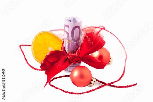 50 Euro als Weihnachtsgeschenk