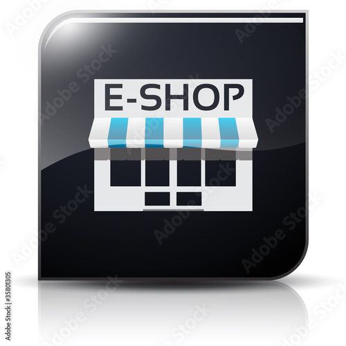 Symbole glossy vectoriel E-commerce