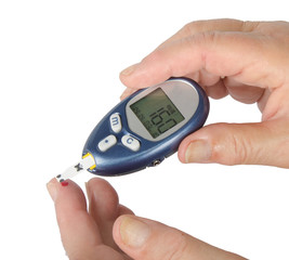 Home glucose meter