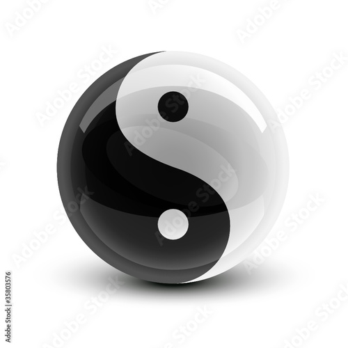Yin and Yang ball