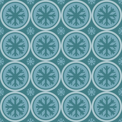 cute snowflakes pattern