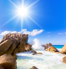 Exotic Getaway Island Shore