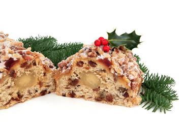 Stollen Christmas Cake