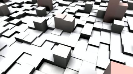 Cubes mit Farbanimation (Variante)