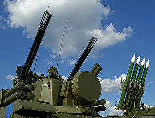 Modern Russian anti-aircraft missiles