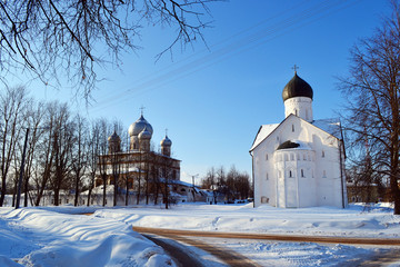 Old church in Veliky Novgorod.
