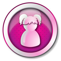 Profile user woman icon