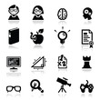 Icons set Nerds