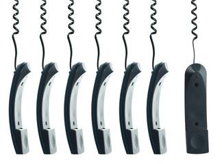 Hanging handset
