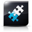 Symbole glossy vectoriel compétences