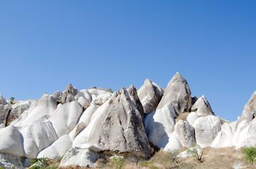 the speciel stone formation of cappadocia