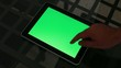 Tablet - green screen customizable