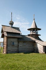 Karelia. Beautiful Kizhi island