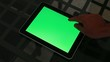 Tablet - green screen customizable