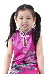 Little oriental girl