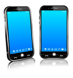 Fototapety Cell Smart Mobile Phone 3D and 2D