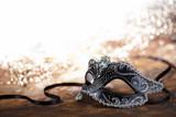 Fototapety carnival mask with glitter