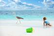 Fun baby games on the beach